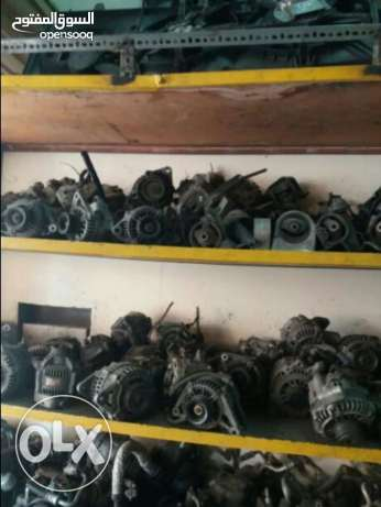 Garage closed auto used spare parts forsale