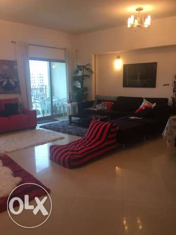flat 3 bedroom seaview for rent in amwaj