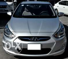 Hyundai Accent 2014,good condition,non accident,provides bank loan