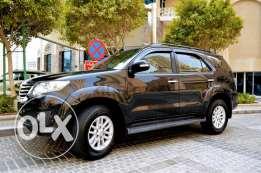 Toyota Fortuner 6 cylinders 2012 full option