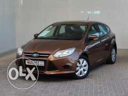 Ford FOCUS 2013 Brown For Sale