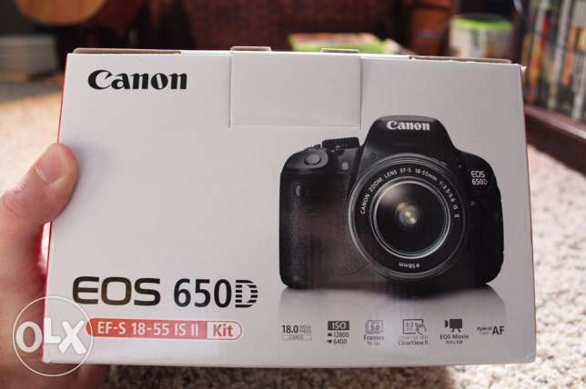 Canon 650D for sale! Only 100 Bd!
