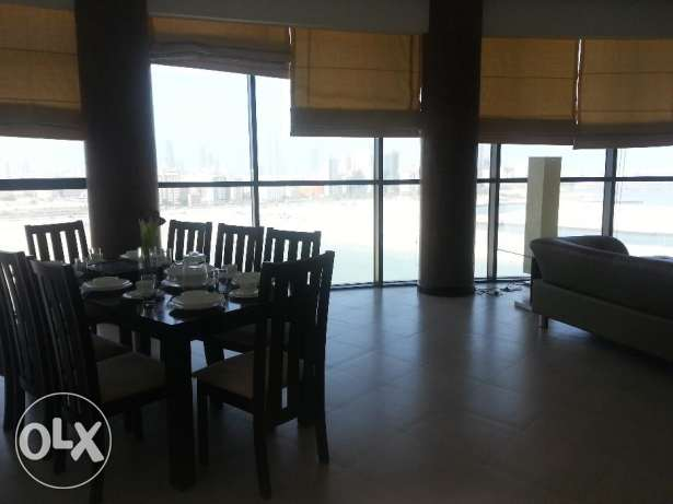 3 bed room modernly furnished in top-class building in JUFFAIR