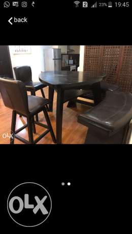 High dining table for sale