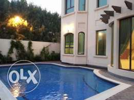 modern stand lone villa with pool close to ksa inclusive