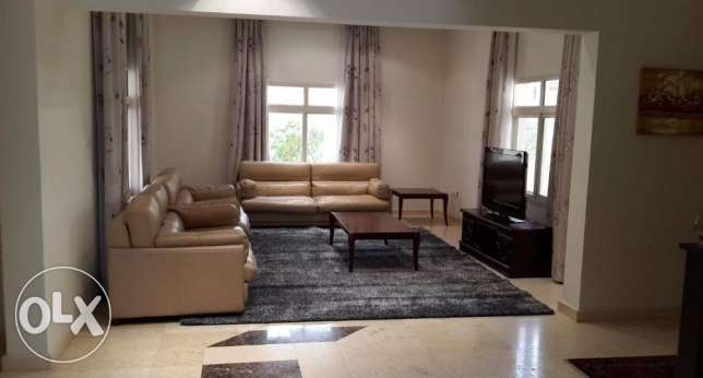 fully furnished modern villa for rent close to Saudi cause way inclusi