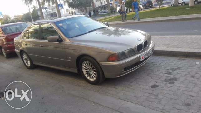 For sale BMW 520i good condition