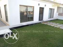 3 bedroom semi furnished villa for rent with garden,pool,play area