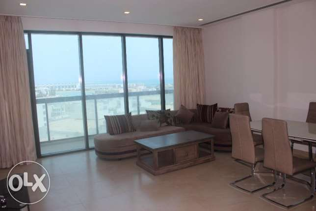 Lovely 2 BR in Amwaj Sea view Brand new / Balcony
