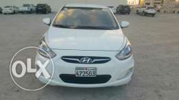 Hyundai 2014 Bahraini car hyundai accent for sale