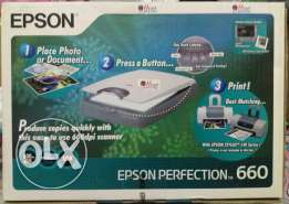 EPSON PERFECTION 660 SCANNER  EPSON scanner
