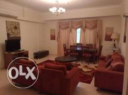 Modernly Fully Furnished 2 Bedroom apartment for rent at Busaiteen