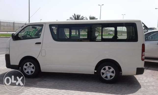Toyota mini bus model 2014