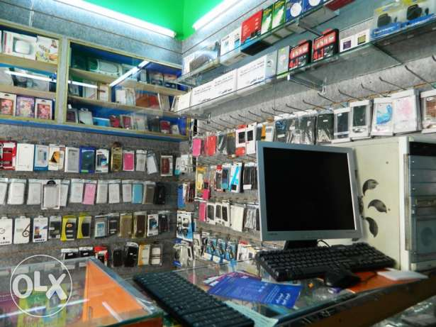 Mobile SHOP FOR SALE, Rent 150, Selling Price With goods 2000 BD,