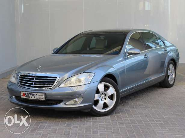 Mercedes 2007 S350 Silver For Sale