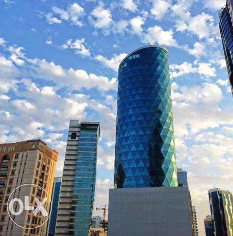 Offices for Rent in Seef! Sea View. Prime Location! (270-540sqm)