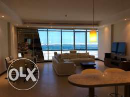 Sea View Amazing 3 Bedroom Furnished Suite For Rent In Juffair