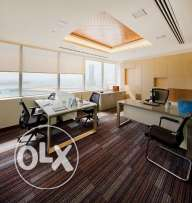Office for 3 with view (can accommodate 5 people) All Incusive