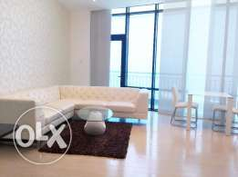 One Bedroom apartment Seef area. Sea view and Huge Balcony