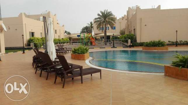 semi furnished villa with private pool inclusive