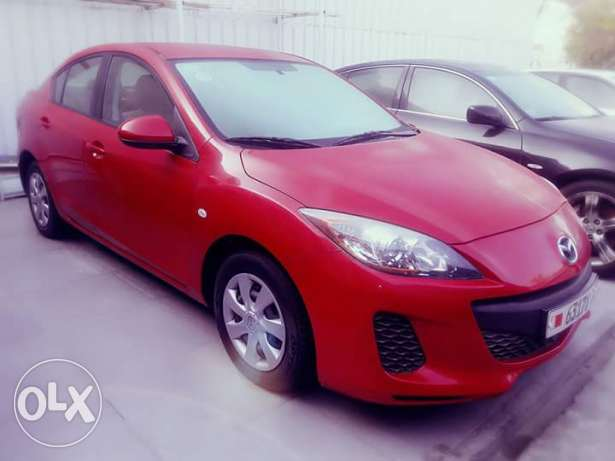 Mazda 3 2013 model , low mileage. Cash and bank loan acceptable