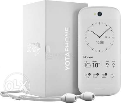 For Sale or SwapYotaPhone 2 White New Only 1 Day Used
