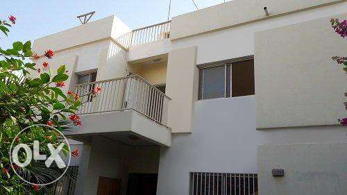 WOW DEAL- 4 Br +maid's room semi furnish villa w/private garden BD.700