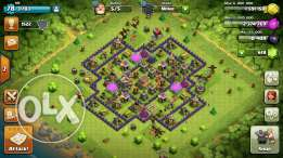 Clash of clan townhall 8