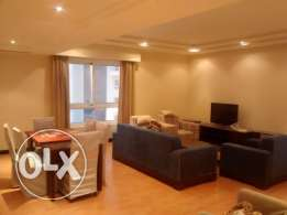 Fully furnished 3 bedroom apartment for rent at Abraj Al Lulu