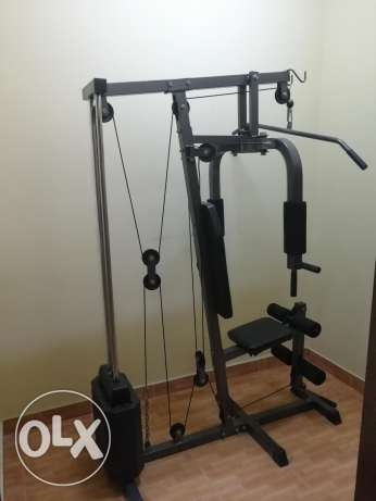 Home gym in good condition for sale