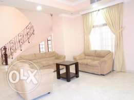 3 Bedroom amazing villa fully furnished villa in Janabiyah