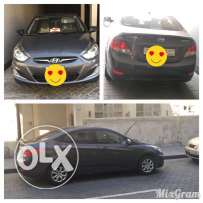 Hyundai Accent, 2013, automatic, 37000 KM, FOR SALE (Lady Own)