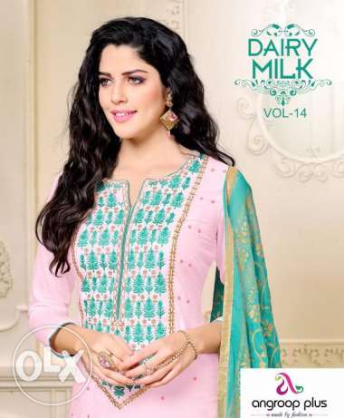 DAIRY MILK VOL 14 Salwaar Kameez at BD 8/- Only