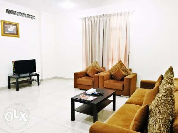 Modern Spacious Furnished 2 BR Apartment