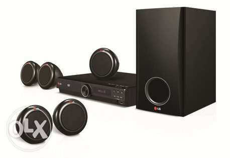 New Lg 5.1 Chanel Usb Dvd Home Theater System Boxpack 27BD Cell: 34048