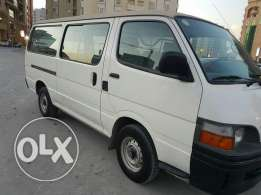 Toyota Hiace 2000 model very low mileage fully insured