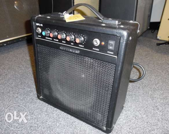 For Sale Optimus & Ibanez Guitar Amplifiers In Good Condition