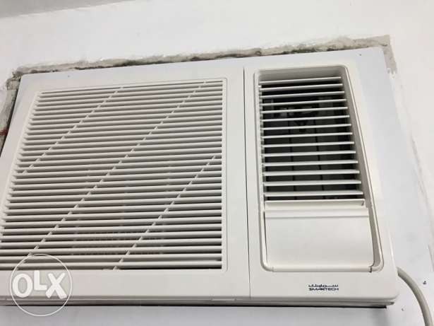 Smart tech window AC