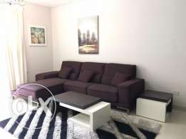 Luxurious 2 bedrooms with modern furniture with direct access to garde