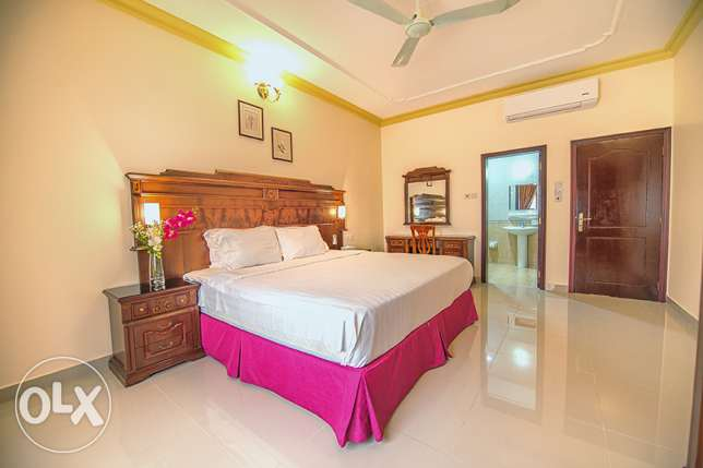 FULLY FURNISHED-Pool, Gym, Sauna, Steam, internet, house keeping-2BHK