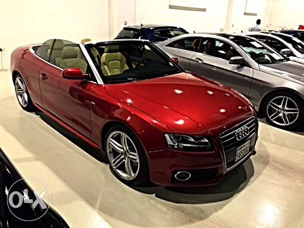 Audi A5 2010 Convertible 65000 km Only