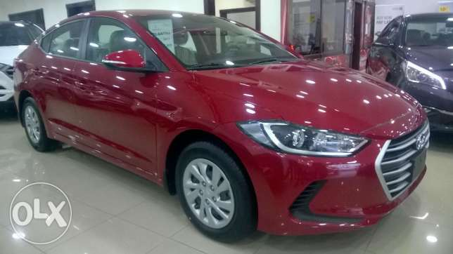 Hyundai Elantra 2017 Monthly 95 BD without down payment