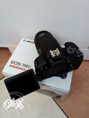 Canon 700D For Sale With box all Accesseries
