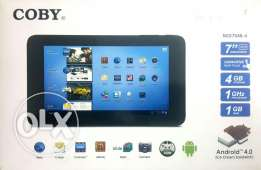 Coby 7inch tab