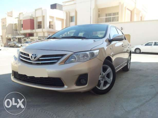 Corolla 1.8 gli 2012 FULL OPTION for urgent sale