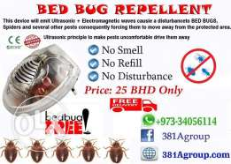Ultrasonic Electromagnetic Bed Bugs Repllent