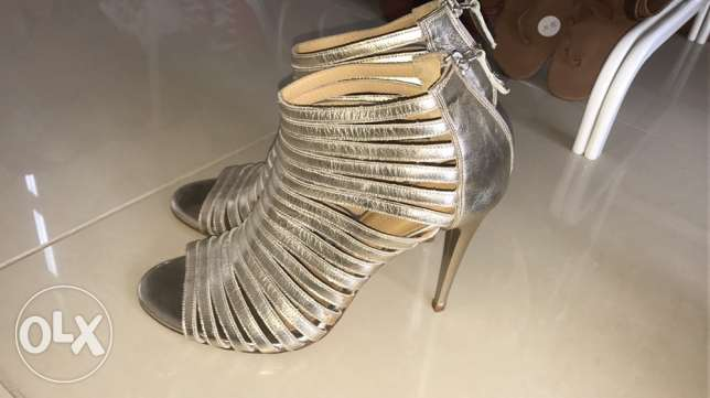 women shoes and trendy clothes