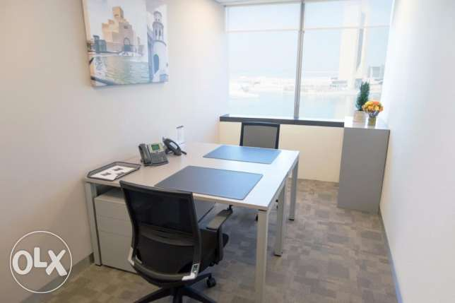 Fully furnished Office for rent all inclusive -virtual