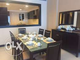 Look 1 Bedroom Fully Furnished Apartment in Juffair All Inclusive