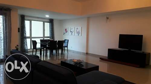 2 Bedroom full furnish bright apmt in Amwaj - BD. 650/- Inc